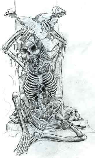 Skeleton Art Tumblr
