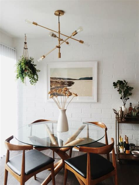 remodelaholic dining  style neutral mid century