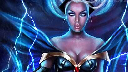 Storm Marvel Version Background Wallpapers Comics Deviantart