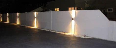 boundary wall lights photo  lighting   exterior