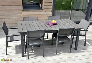 Table Jardin Composite : table jardin watson alu composite 180 250x100 watson table rectangulaire 180 250 100 residence ~ Teatrodelosmanantiales.com Idées de Décoration