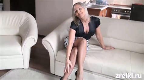 Sexy Polish Queen Ala Nylon In Sexy Mini Skirt Ala On