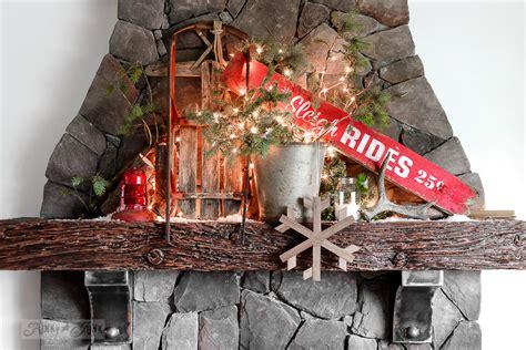 santas picnic   campfire  christmas mantelfunky