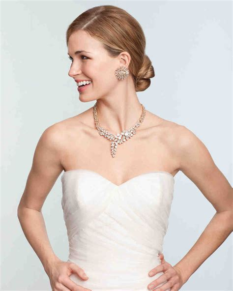 top wedding registry bridal jewelry for every wedding dress style martha