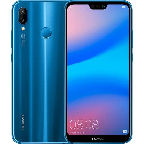 Celular Libre HUAWEI P20 Lite Azul DS 4G Alkosto Tienda Online