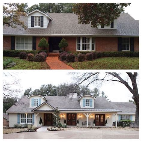 Painted Brick Homes Add Charm & Curb Appeal  Omg. Allen And Roth Rugs. Pendant Lighting For Kitchen. Vanity World. Homedecor. Fitted Bedspread. New Home Must Haves. Beacon Gray. Sofa Table Height