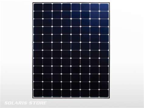 Panneau solaire back contact SunPower E20 327W 327Wc 65V