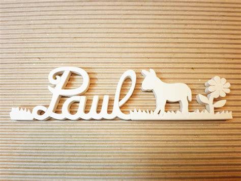 lettre cuisine en bois lettres attachées bois naturel âne prénoms en bois