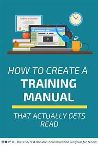 How To Create A Training Manual That Actually Gets Read