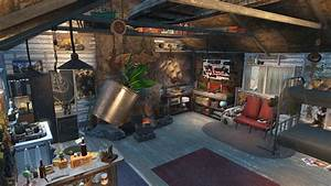 gorski cabin overhaul at fallout 4 nexus mods and community With fallout 4 interior decorating