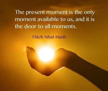 present moment awareness  power