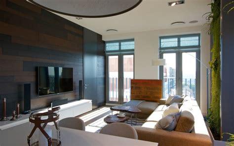 Vertical Garden Walls Bring Vibrant To A Contemporary Apartment Interior by Comfortable Living Room Design Interior Design Ideas