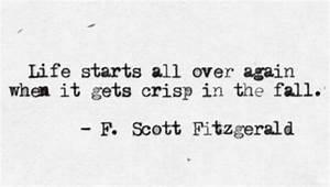 Life Starts Ove... Happy Gatsby Quotes