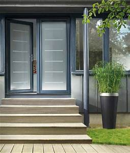 batiment brique porte d39 entree aluminium vitree prix With prix porte d entrée aluminium vitrée
