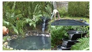 Home Decor DIY Project How To Build A Wonderful Pond How To Build A Beautiful Back Yard Pond And Water Feature Cheaply Koi Pond Steps To Building A Koi Pond Lawn Garden Pinterest How To Build A Small Pond