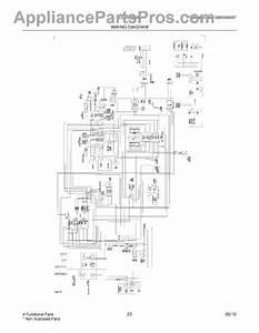 Parts For Frigidaire Lgus2642lf0  Wiring Diagram Parts
