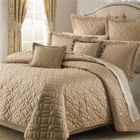 Buy Gold Queen Coverlet From Bed Bath & Beyond