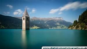 Lake Reschen  U0026gt  Digital Noise Photography