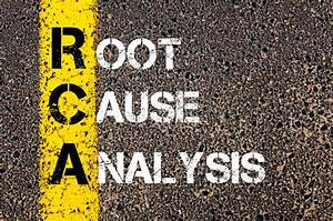 Acronym Rca - Root Cause Analysis Stock Image
