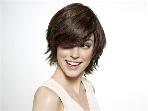 Short Easy To Wear And Wash And Go Hairstyle