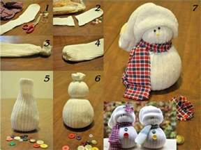 now you can pin it sock snowman