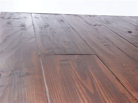 Hand Scraped Southern Yellow Pine Flooring Price Reduced