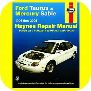 Repair Manual Book Ford Taurus Mercury Sable 96