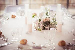 Deco Mariage Romantique : decoration table mariage romantique chic ~ Nature-et-papiers.com Idées de Décoration