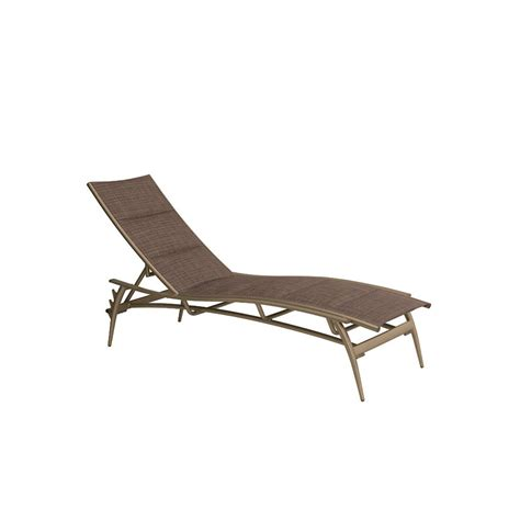 tropitone 189932ps echo padded sling chaise lounge