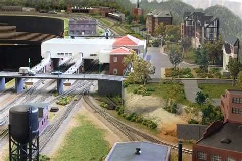 custom model railroads nw  scale layout