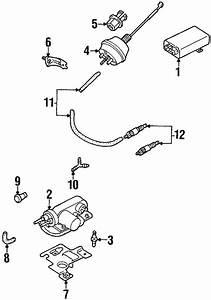 1999 Volkswagen Eurovan Cruise Control Vacuum Harness