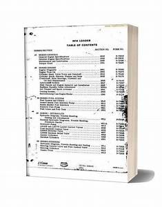 Case W14 1978 Shopmanual Sec Wat