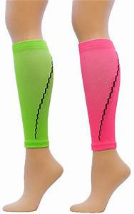 Neon Colored Athletic Sport pression Leg Sleeve
