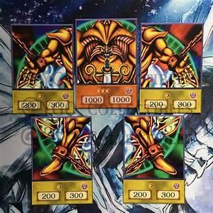 Yugioh Custom Anime Orica Cards U2019 Exodia 5 Card Set Ebay