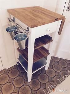 Ikea Stenstorp Wandregal : ikea stenstorp k ks rullbord och barstolar bor s mark bollebygd citiboard ~ Orissabook.com Haus und Dekorationen
