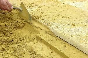 Comment Poser Des Dalles En Bois Sur Une Pelouse : comment poser des dalles gravionn es sur sable guide ~ Dailycaller-alerts.com Idées de Décoration