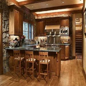 25 best ideas about small rustic kitchens on pinterest With what kind of paint to use on kitchen cabinets for western metal wall art decor