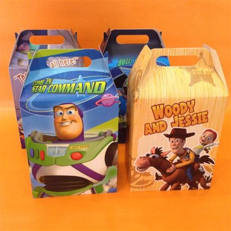 toy story party favor boxesbags  littleartistshop