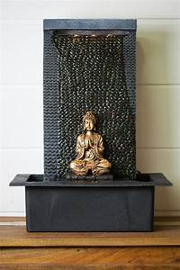 deco d39interieur fontaine dinterieur bouddha en meditation With fontaine decorative d interieur