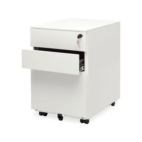 white file cabinet small lockable filing cabinet wood vs metal