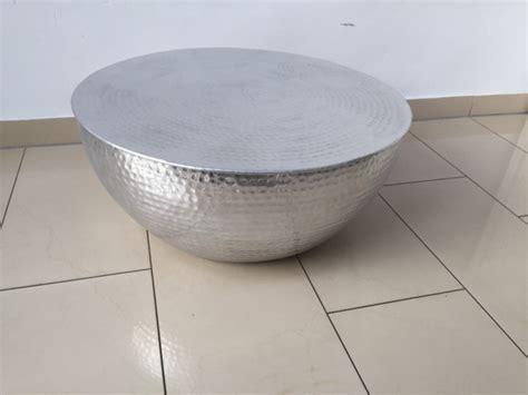 Couchtisch Aluminium Rund by Couchtisch Rund Silber Couchtisch Aluminium Hammerschlag