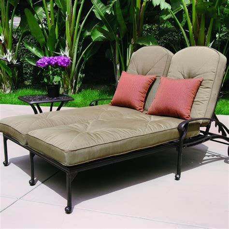 chaise cars darlee elisabeth 2 cast aluminum patio chaise