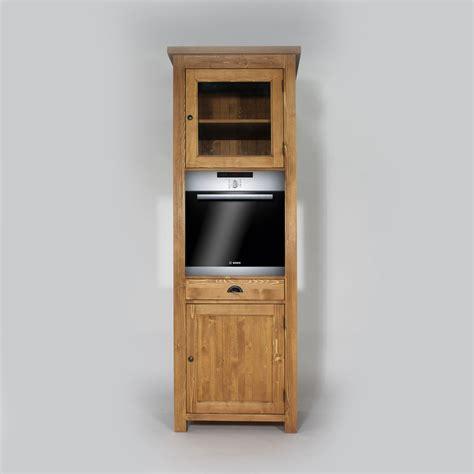 meuble colonne de cuisine colonne cuisine en bois pour four cagne made in meubles