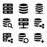 Server Database Vector Icons Powerpoint Databases Data