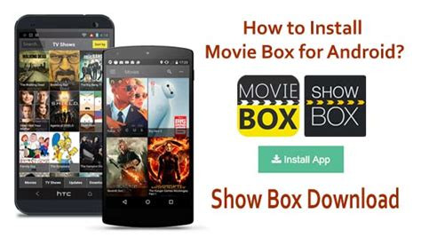moviebox app for android how to install moviebox for android devices box