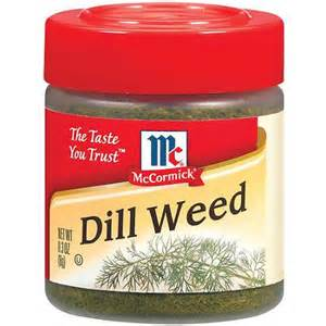 wedding registry options mccormick specialty herbs and spices dill 3 oz