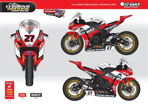Racing Team by Crankt Protein Honda Racing Partners Mcnews Au