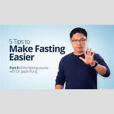 The Top 5 Tips To Make Fasting Easier  Diet Doctor