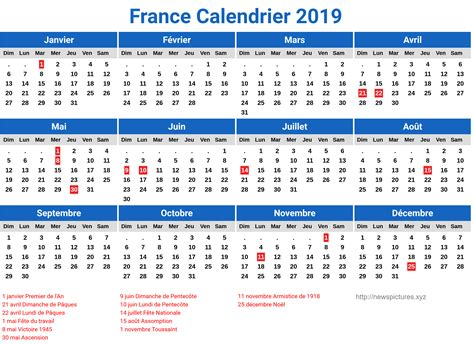 calendrier france jours feries newspicturesxyz