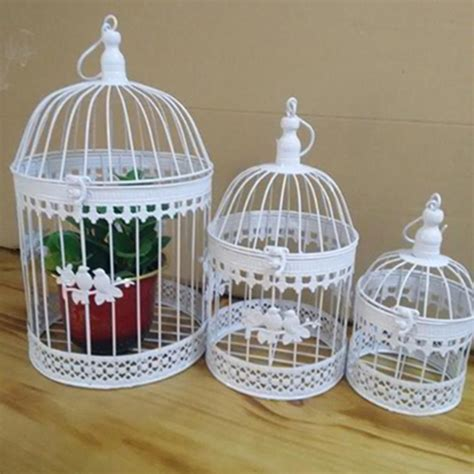aliexpress com buy fashion antique decorative bird cages iron flower decor birdcage